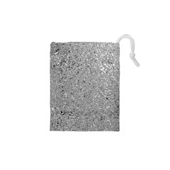 Abstract Flowing And Moving Liquid Metal Drawstring Pouches (XS)