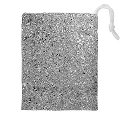 Abstract Flowing And Moving Liquid Metal Drawstring Pouches (xxl)