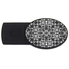 Modern Oriental Pattern USB Flash Drive Oval (4 GB)