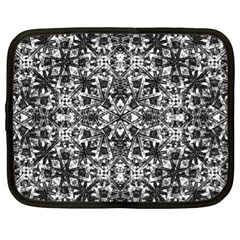 Modern Oriental Pattern Netbook Case (XL)