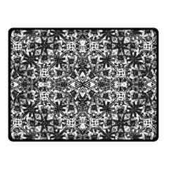 Modern Oriental Pattern Double Sided Fleece Blanket (Small)