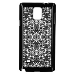 Modern Oriental Pattern Samsung Galaxy Note 4 Case (Black)