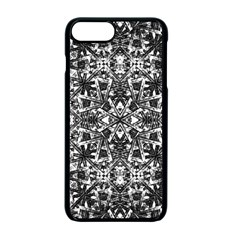 Modern Oriental Pattern Apple Iphone 7 Plus Seamless Case (black)