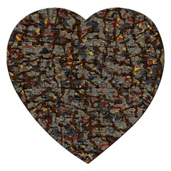 A Complex Maze Generated Pattern Jigsaw Puzzle (heart)
