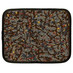 A Complex Maze Generated Pattern Netbook Case (large)