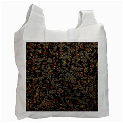 A Complex Maze Generated Pattern Recycle Bag (two Side)