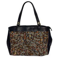 A Complex Maze Generated Pattern Office Handbags (2 Sides)