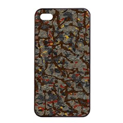 A Complex Maze Generated Pattern Apple Iphone 4/4s Seamless Case (black)