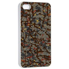 A Complex Maze Generated Pattern Apple Iphone 4/4s Seamless Case (white)