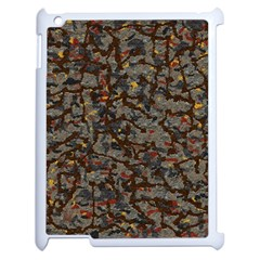 A Complex Maze Generated Pattern Apple Ipad 2 Case (white)