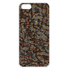 A Complex Maze Generated Pattern Apple Iphone 5 Seamless Case (white)
