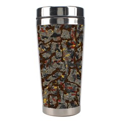 A Complex Maze Generated Pattern Stainless Steel Travel Tumblers