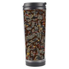 A Complex Maze Generated Pattern Travel Tumbler