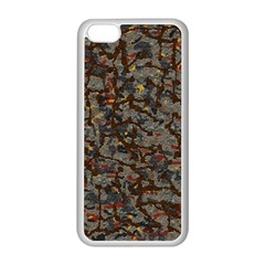 A Complex Maze Generated Pattern Apple Iphone 5c Seamless Case (white)