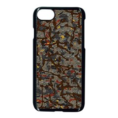 A Complex Maze Generated Pattern Apple Iphone 7 Seamless Case (black)