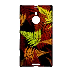 3d Red Abstract Fern Leaf Pattern Nokia Lumia 1520