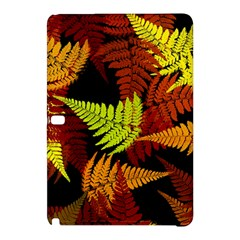 3d Red Abstract Fern Leaf Pattern Samsung Galaxy Tab Pro 10 1 Hardshell Case