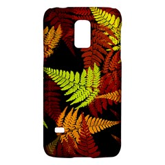3d Red Abstract Fern Leaf Pattern Galaxy S5 Mini