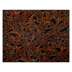 Art Traditional Indonesian Batik Pattern Rectangular Jigsaw Puzzl