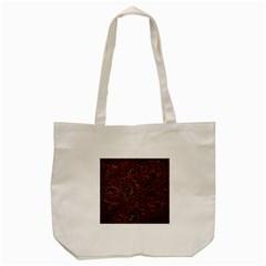 Art Traditional Indonesian Batik Pattern Tote Bag (cream)