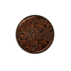 Art Traditional Indonesian Batik Pattern Hat Clip Ball Marker (4 Pack)