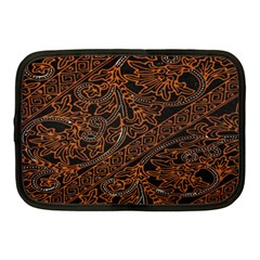 Art Traditional Indonesian Batik Pattern Netbook Case (Medium)