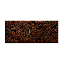 Art Traditional Indonesian Batik Pattern Cosmetic Storage Cases