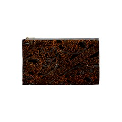 Art Traditional Indonesian Batik Pattern Cosmetic Bag (small)