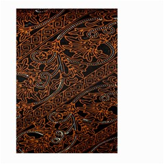 Art Traditional Indonesian Batik Pattern Large Garden Flag (two Sides)