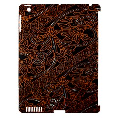Art Traditional Indonesian Batik Pattern Apple Ipad 3/4 Hardshell Case (compatible With Smart Cover)