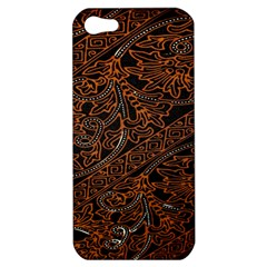 Art Traditional Indonesian Batik Pattern Apple Iphone 5 Hardshell Case