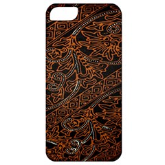 Art Traditional Indonesian Batik Pattern Apple Iphone 5 Classic Hardshell Case