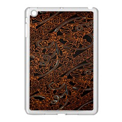 Art Traditional Indonesian Batik Pattern Apple Ipad Mini Case (white)