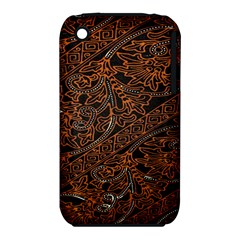 Art Traditional Indonesian Batik Pattern Iphone 3s/3gs