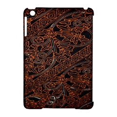 Art Traditional Indonesian Batik Pattern Apple Ipad Mini Hardshell Case (compatible With Smart Cover)