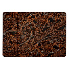 Art Traditional Indonesian Batik Pattern Samsung Galaxy Tab 10 1  P7500 Flip Case