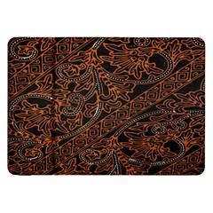 Art Traditional Indonesian Batik Pattern Samsung Galaxy Tab 8 9  P7300 Flip Case