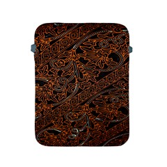 Art Traditional Indonesian Batik Pattern Apple Ipad 2/3/4 Protective Soft Cases