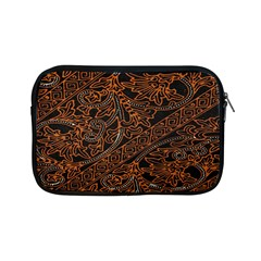 Art Traditional Indonesian Batik Pattern Apple Ipad Mini Zipper Cases