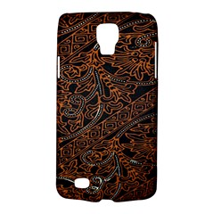 Art Traditional Indonesian Batik Pattern Galaxy S4 Active