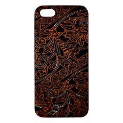 Art Traditional Indonesian Batik Pattern Iphone 5s/ Se Premium Hardshell Case