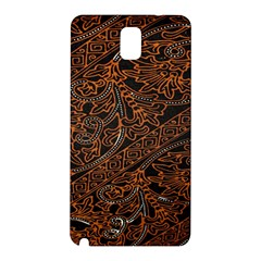 Art Traditional Indonesian Batik Pattern Samsung Galaxy Note 3 N9005 Hardshell Back Case