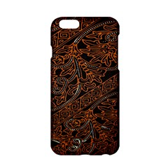 Art Traditional Indonesian Batik Pattern Apple Iphone 6/6s Hardshell Case