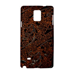 Art Traditional Indonesian Batik Pattern Samsung Galaxy Note 4 Hardshell Case