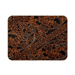 Art Traditional Indonesian Batik Pattern Double Sided Flano Blanket (mini)