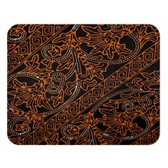 Art Traditional Indonesian Batik Pattern Double Sided Flano Blanket (large)
