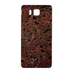 Art Traditional Indonesian Batik Pattern Samsung Galaxy Alpha Hardshell Back Case