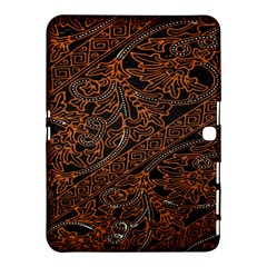 Art Traditional Indonesian Batik Pattern Samsung Galaxy Tab 4 (10.1 ) Hardshell Case