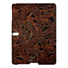 Art Traditional Indonesian Batik Pattern Samsung Galaxy Tab S (10 5 ) Hardshell Case
