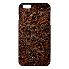 Art Traditional Indonesian Batik Pattern iPhone 6 Plus/6S Plus TPU Case